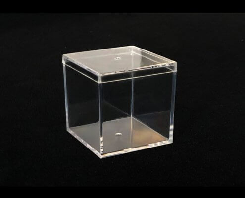 Clear Acrylic Box With Lid
