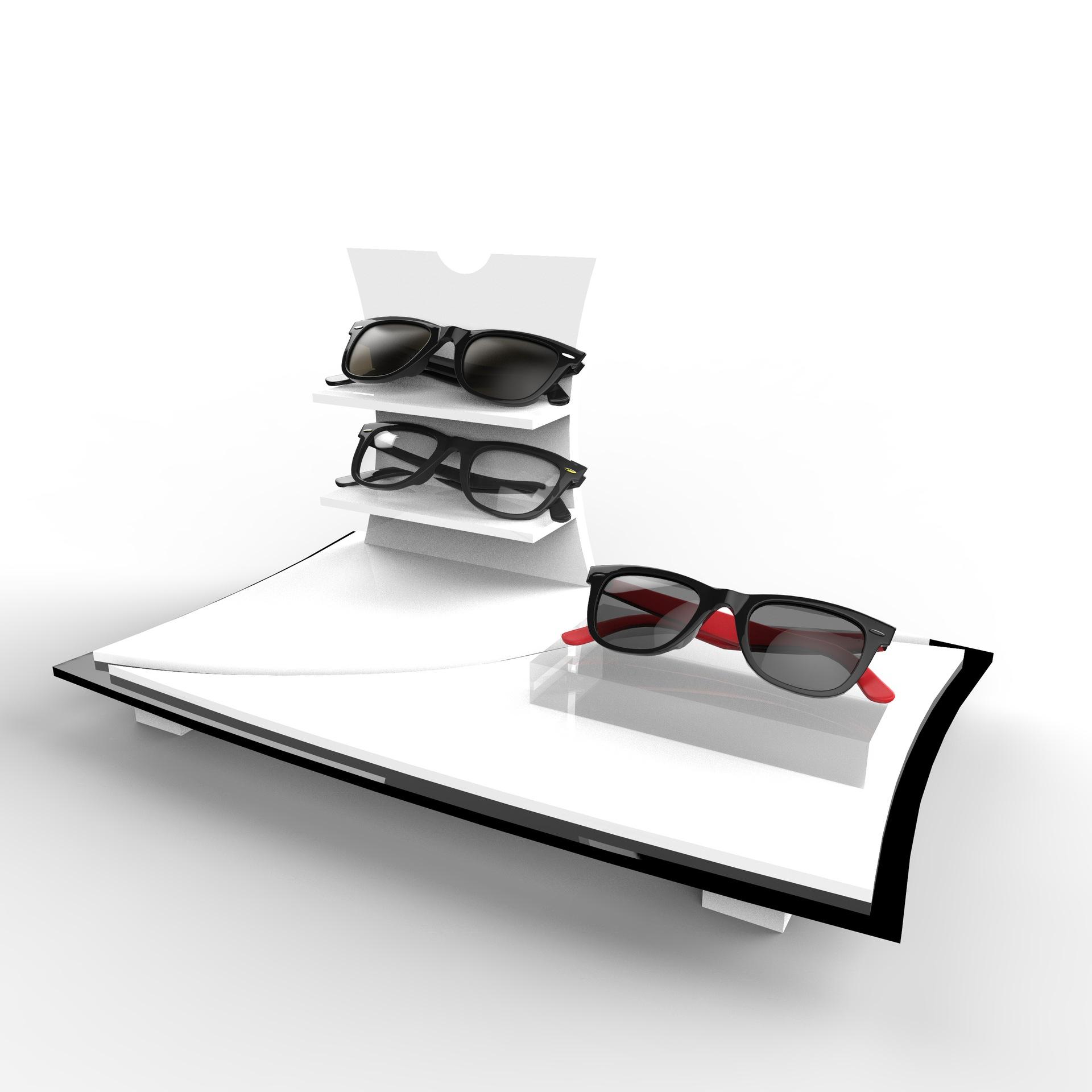 Custom Acrylic Sunglasses Holder