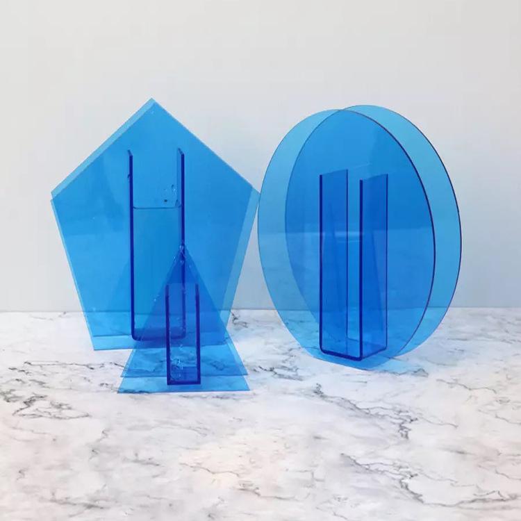 acrylic flower vases wholesale