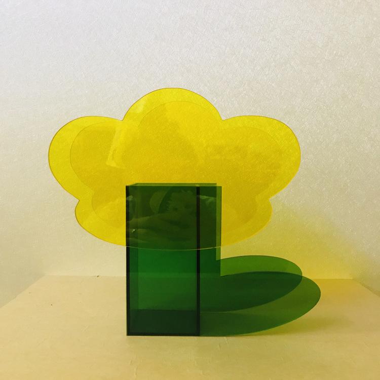 acrylic flower box with holes acrylic flower vase