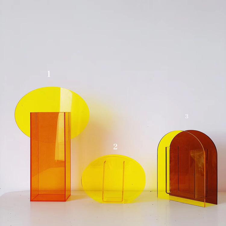 crystal acrylic flower box