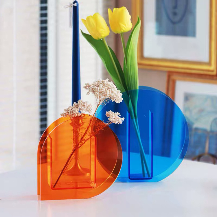 acrylic flower vase suppliers