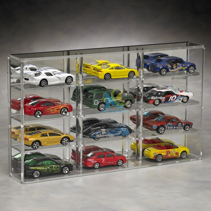 custom acrylic model display cases