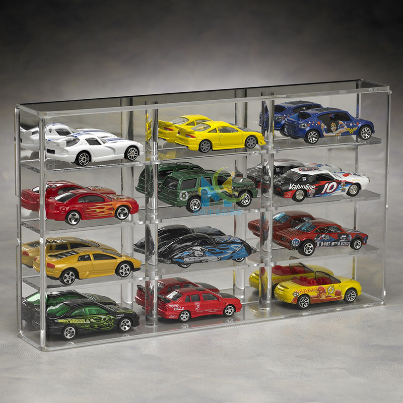 custom acrylic model display cases