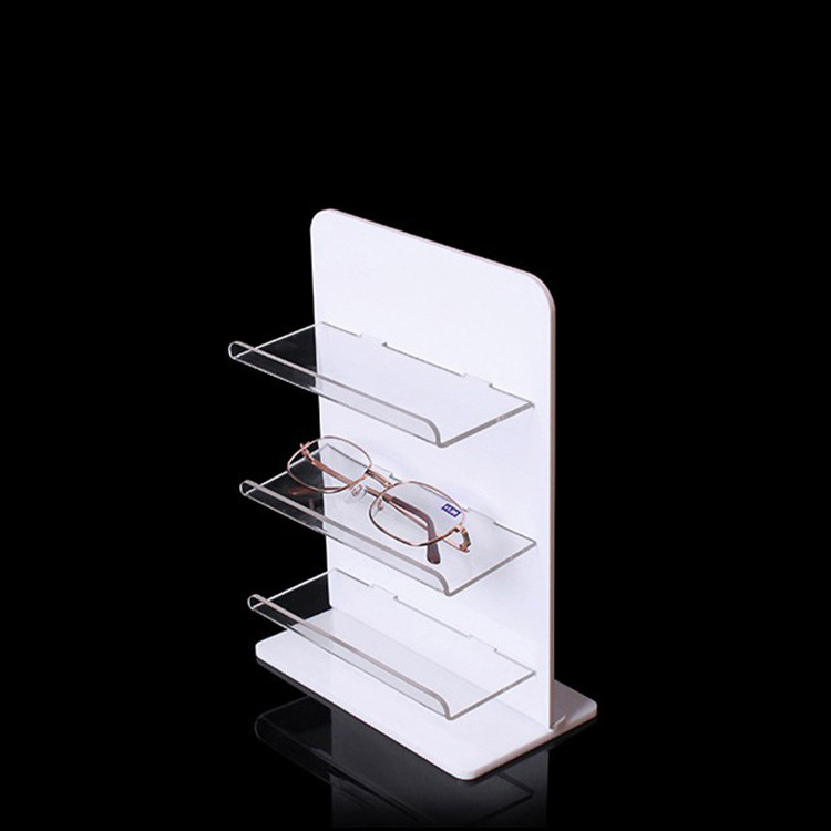 White Eyeglasses Display Rack