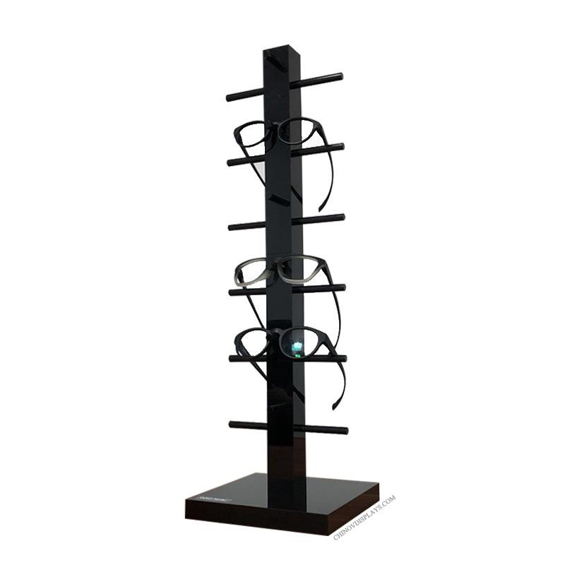Custom Acrylic Disp;ay Shelves Eyeglasses Holder Stand