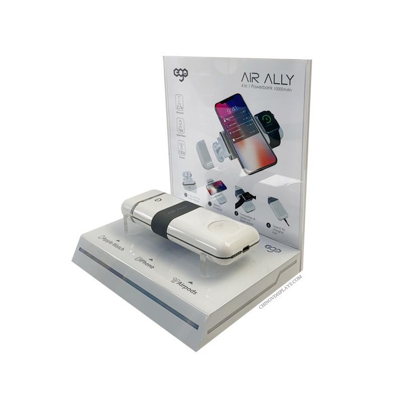 Custom Acrylic Display 3C Phone Accessories Smart Bracelets POP Stand