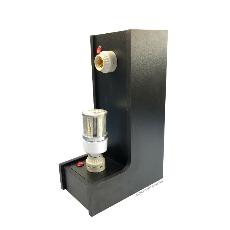 Custom Acrylic Display Case Energy Saving Lamp Showcase Cabinet