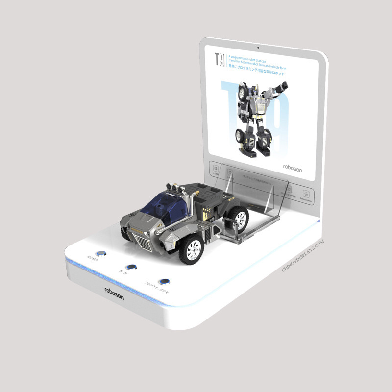 Custom Acrylic Display Electronic Car Toys POP Stand