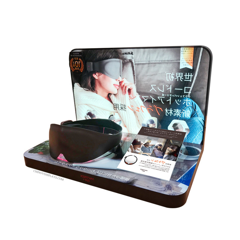 Custom Acrylic Display Eye Patch Blinder POP Stand