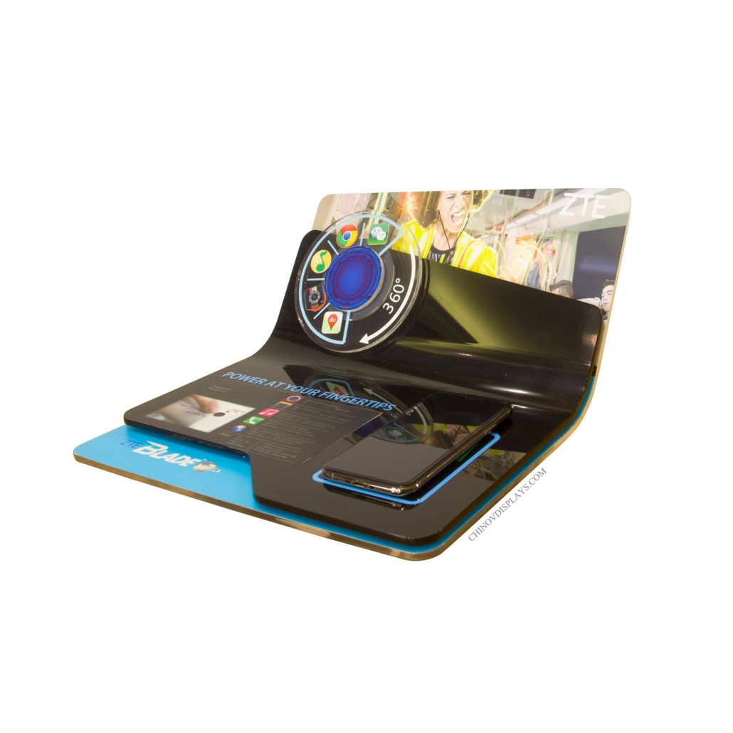 Custom Acrylic Display Smartphone Tryme POP Stand
