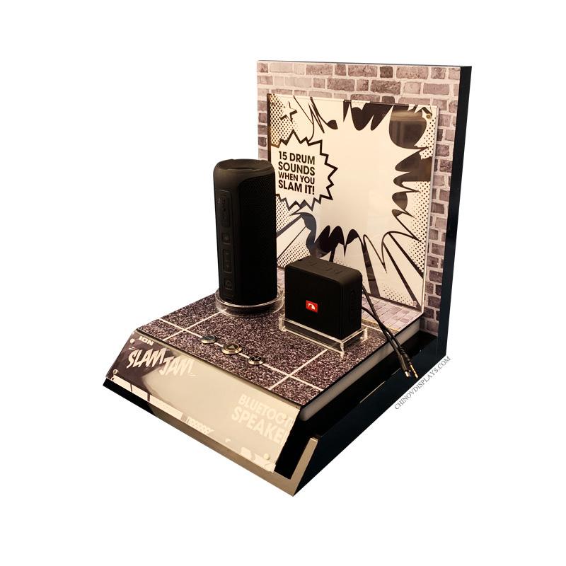 Custom Acrylic Display Stand Bluetooth Speaker Digital Electronic Products POP Display