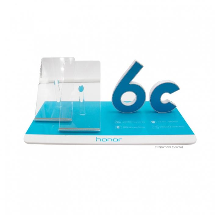 Custom Builde Acrylic Display Case Tabletop 3C Phone Accessories POP Stand