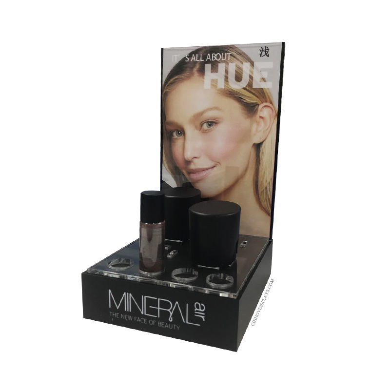 Custom Cosmestic Display Acrylic POP Stand for Shopping Malls