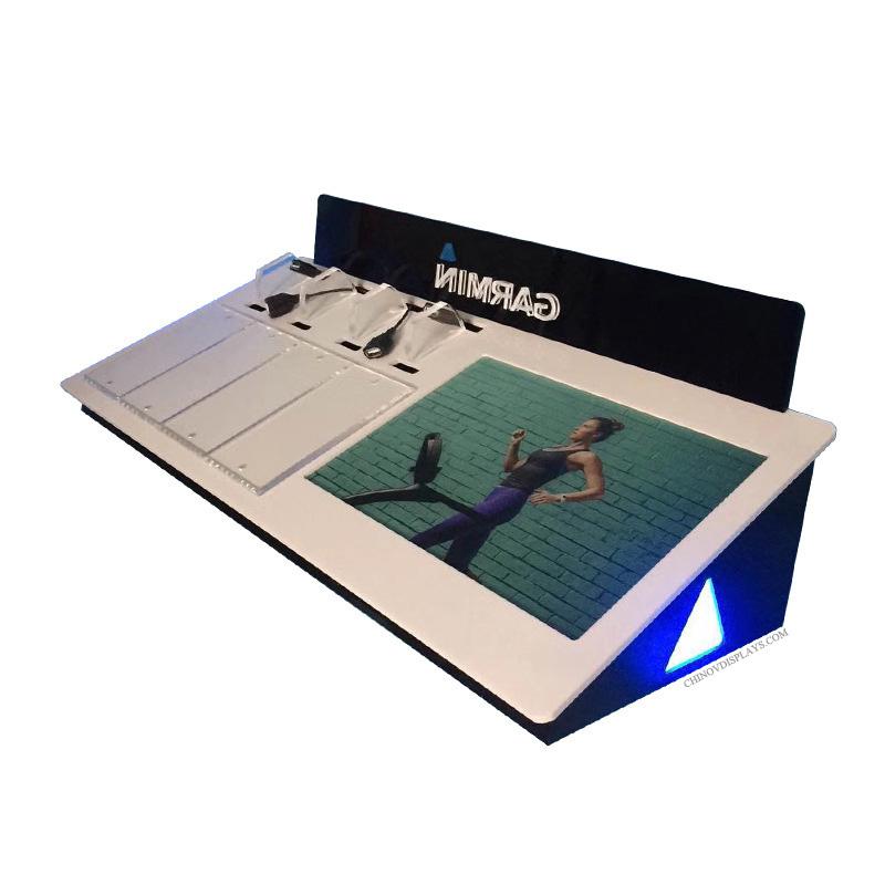 Customized Acrylic Wristband Display Digital LCD Stand