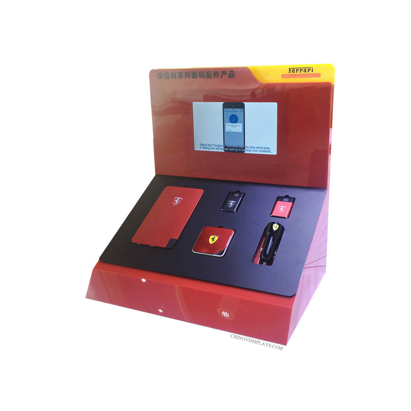 Customized Plexiglass Stand Acrylic Power Bank Stand