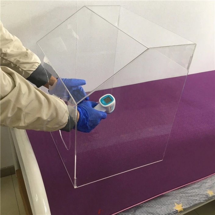 Clear Perspex Barrier Anti-Droplets