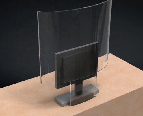 plexiglass shield for counter