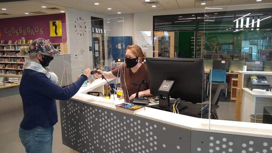 Sneeze Guard For Desk Cashier Countertop