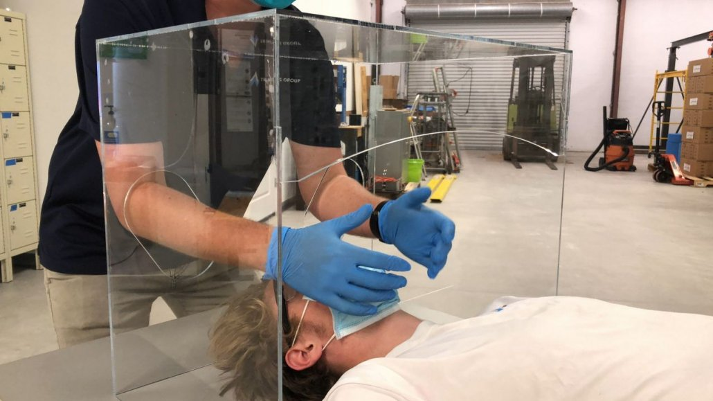 Intubation Box Provides Extra Protection for Caregivers