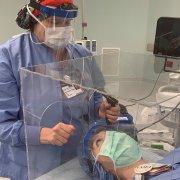 Plexiglass Intubation Box For Heath Care