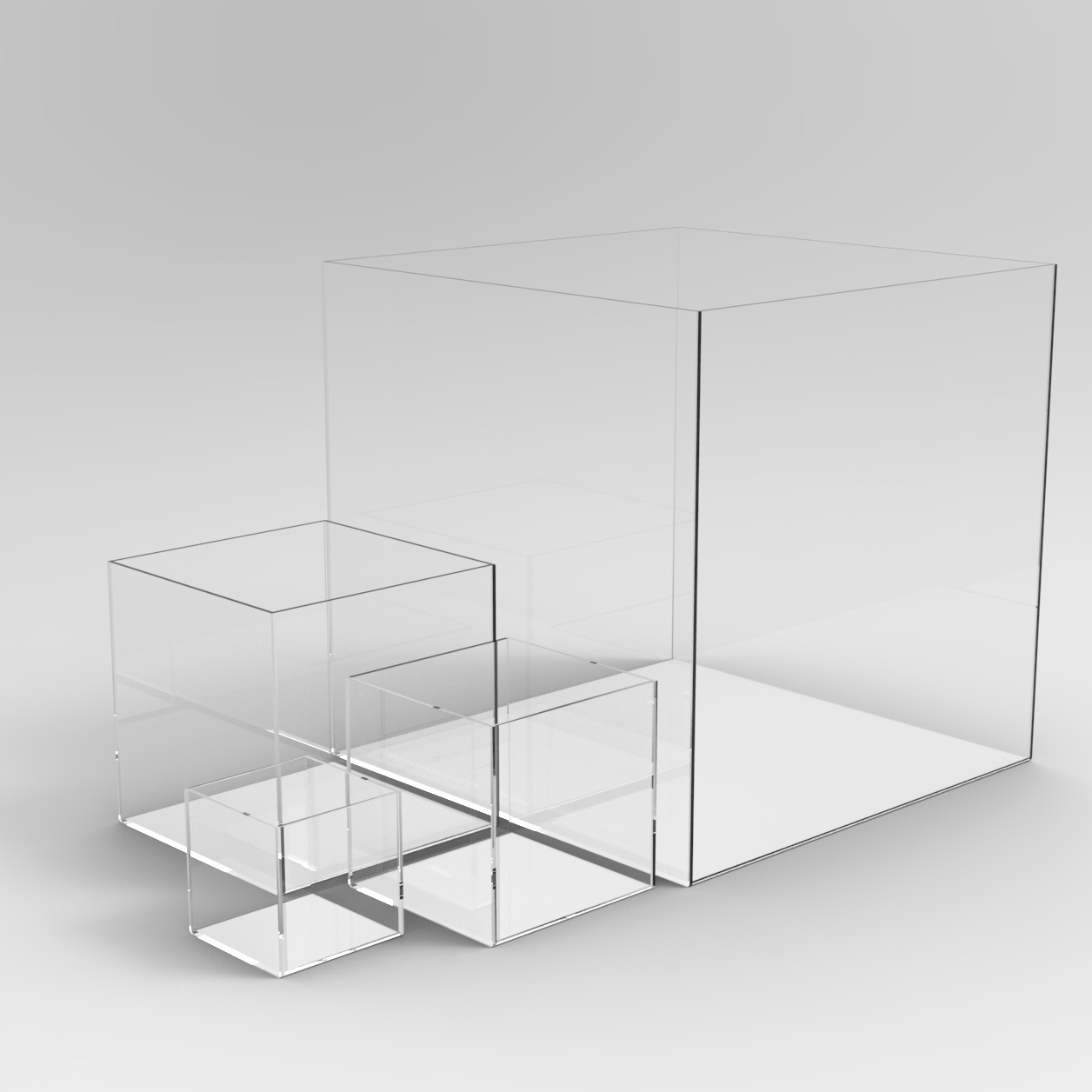 custom acrylic display boxes