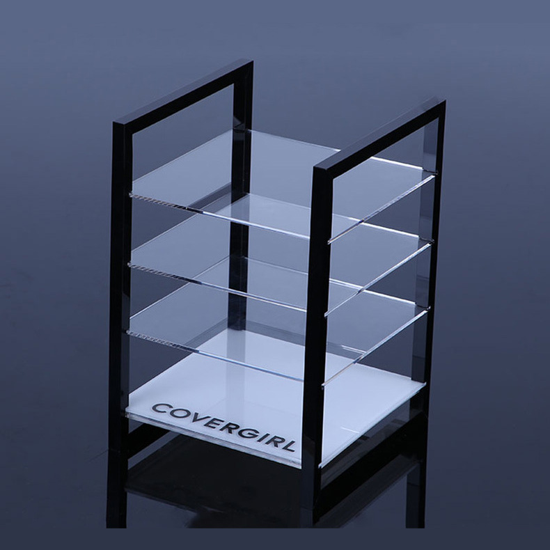 custom acrylic display shelves