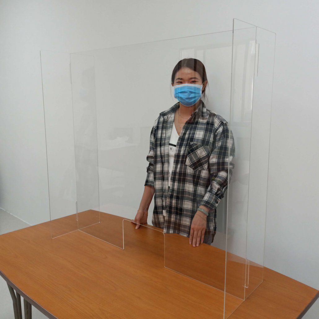 Portable Sneeze Guard Shield