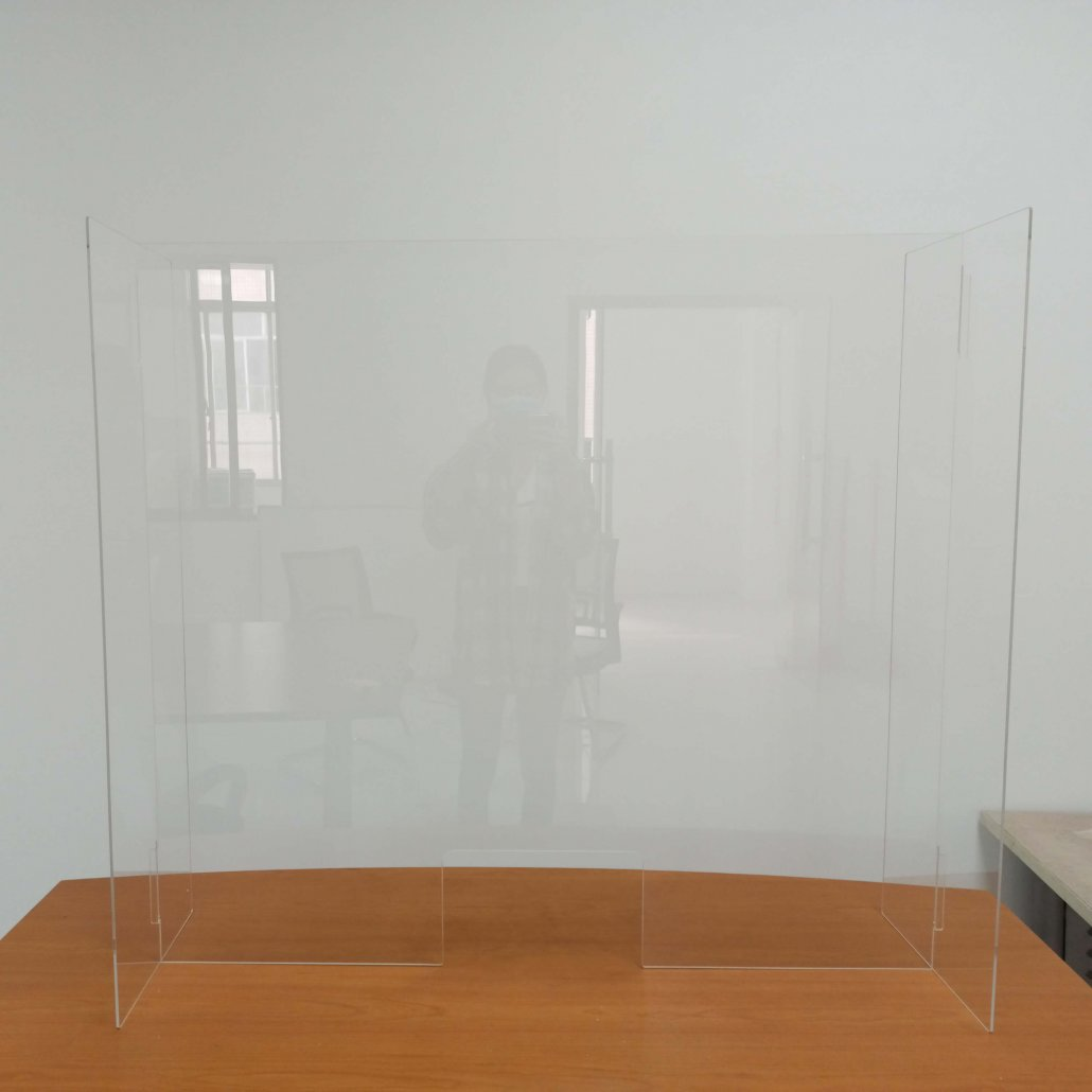 plexiglass sneeze guard shield for countertop