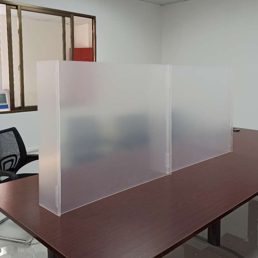 plexiglass countertop shield acrylic sneeze guard