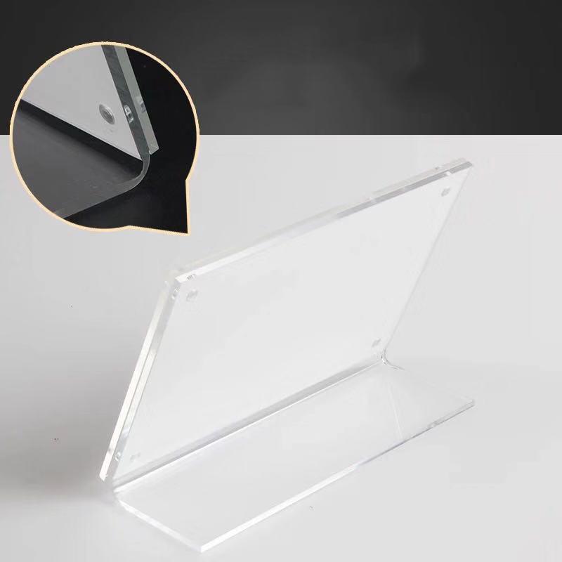 clear acrylic sign holders 8.5 x 11