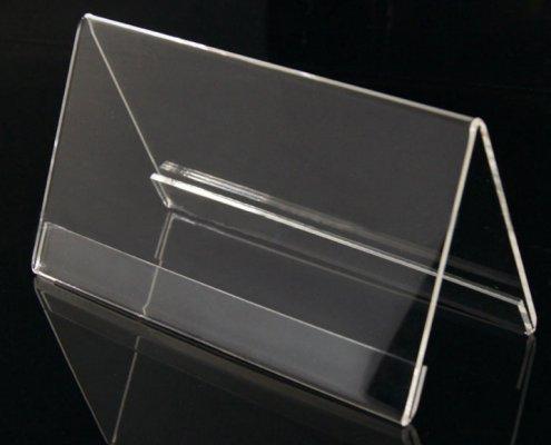 acrylic table tent card holder