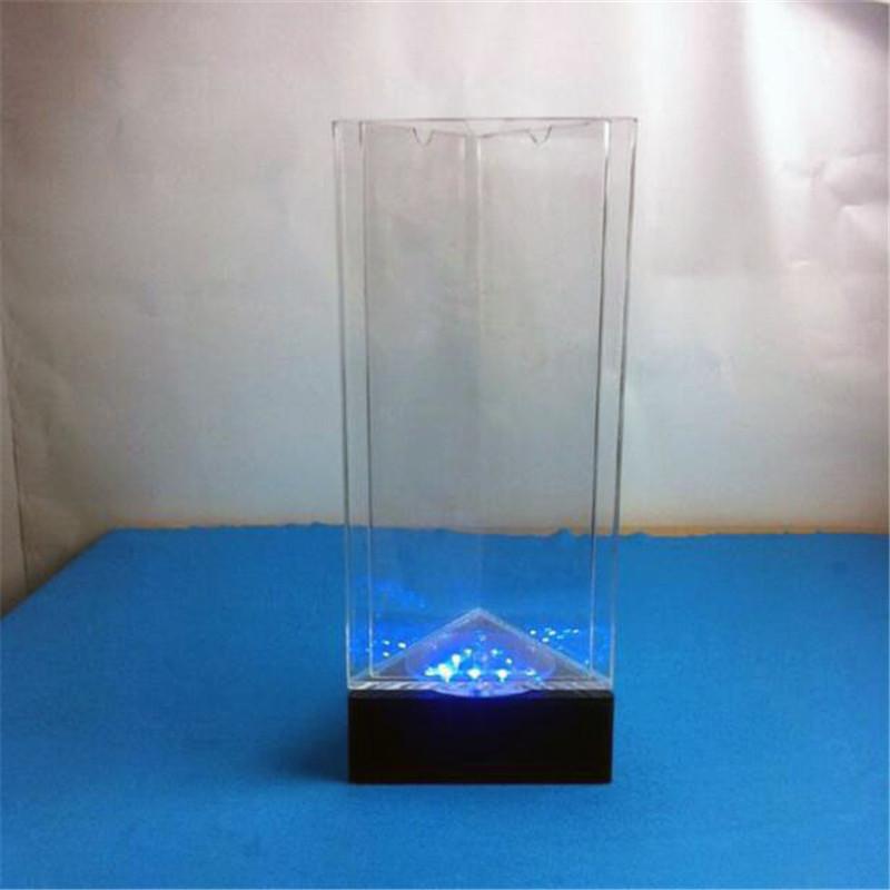 3 Sided Revolving LED Acrylic Sign Holder