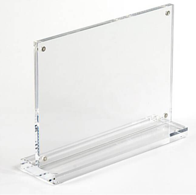 acrylic sign holders with magnetic base