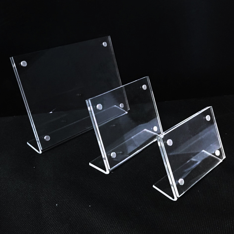 acrylic sign holders with magnets