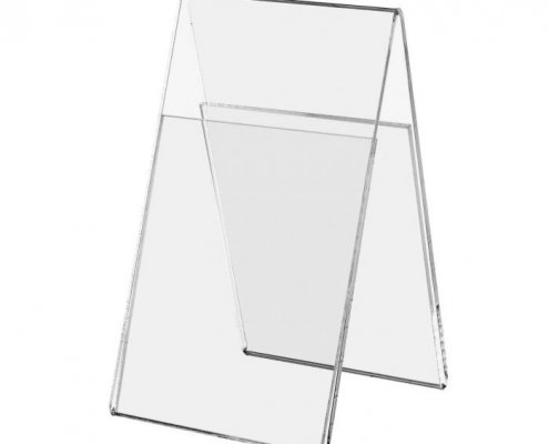 tabletop tent signs acrylic poster frame