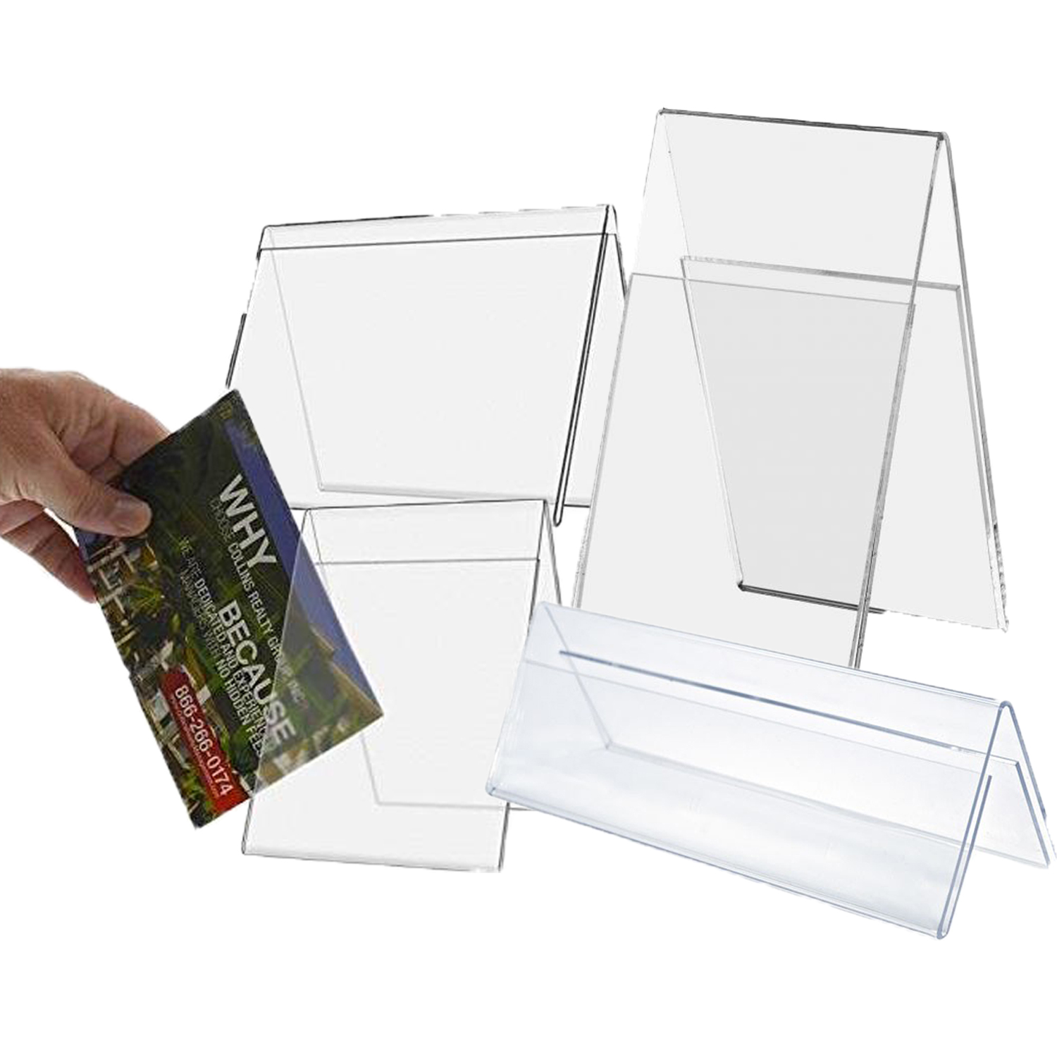 Table Tent Holders Acrylic Table Tent