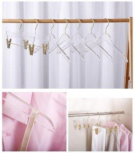 Dress hanger/ Acrylic Pants hangers: