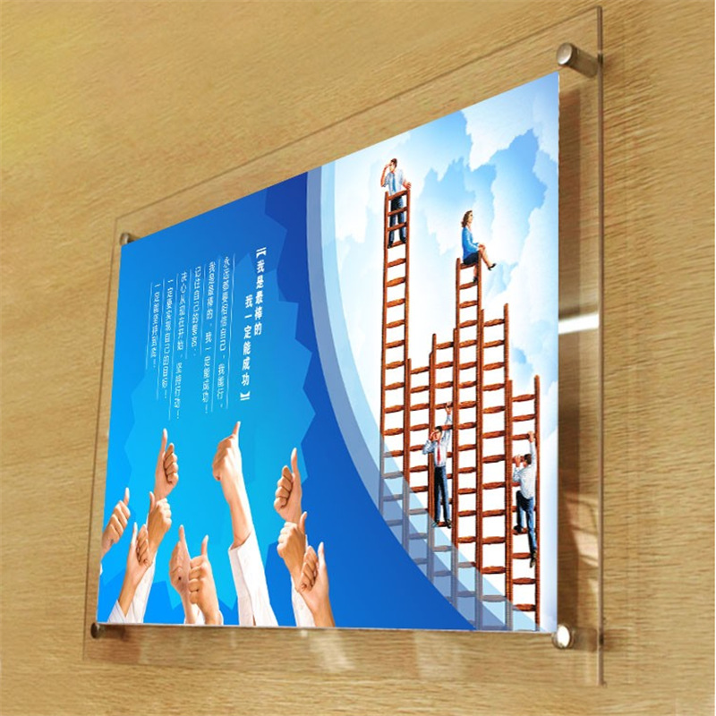 8.5 x 11 acrylic sign holder for wall acrylic sign display stands