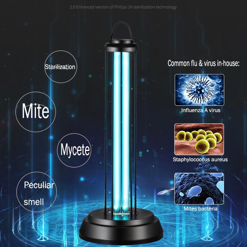uv-c lamp uv light for room disinfection