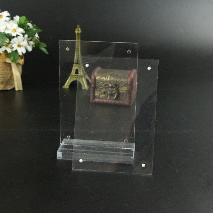 "8"" 1/ 2 x 11"" Acrylic Display Stands clear acrylic sign holders"