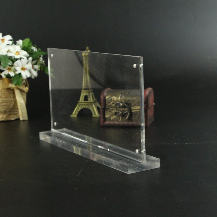 "8"" 1/ 2 x 11"" Acrylic Display Stands acrylic standing sign holder"