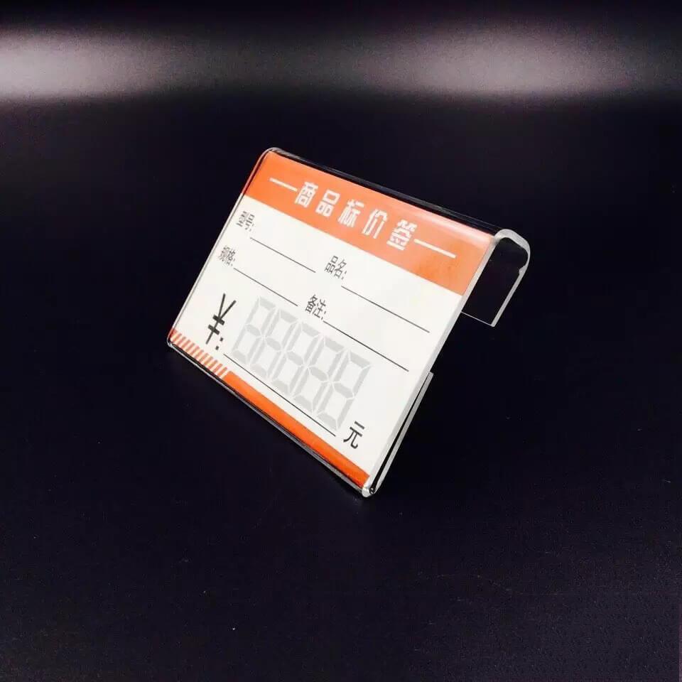 retail sign holders acrylic bulk acrylic sign holders