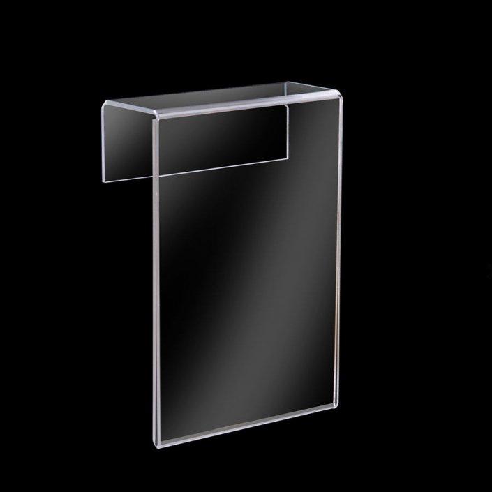 slatwall acrylic sign holders custom acrylic display stand