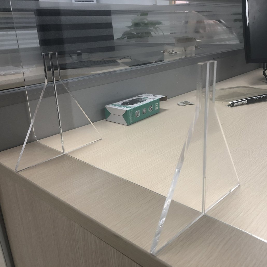 Acrylic Sneeze Guard For Office