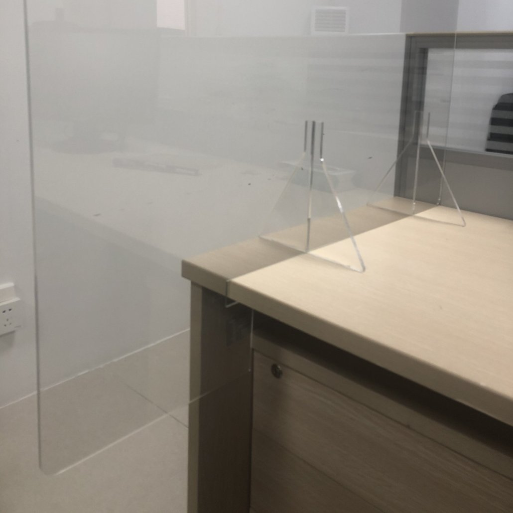 Perspex Shields For Countertop