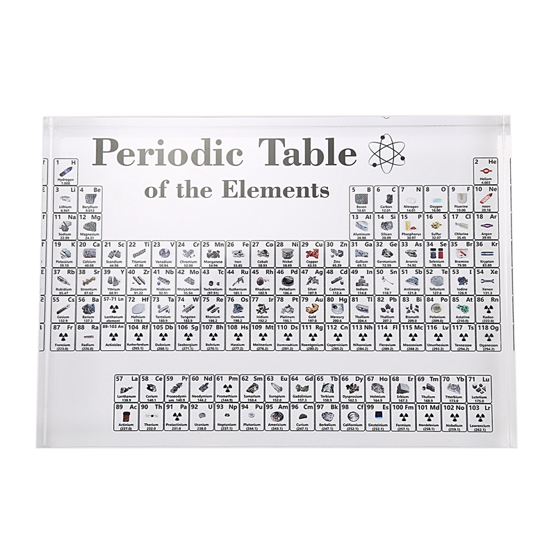 Periodic Table Display With Elements Lite Edition