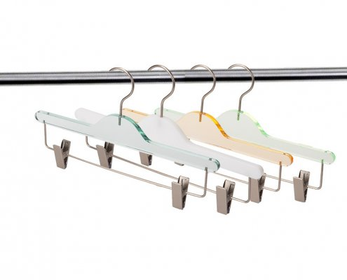 Transclucent Colorful Acrylic Hangers Wholesale