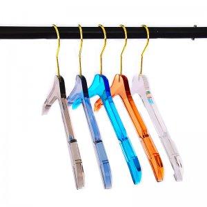 Lucite Hangers Colorful Short Hangers
