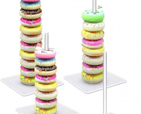 acrylic donut display stand manufacturer